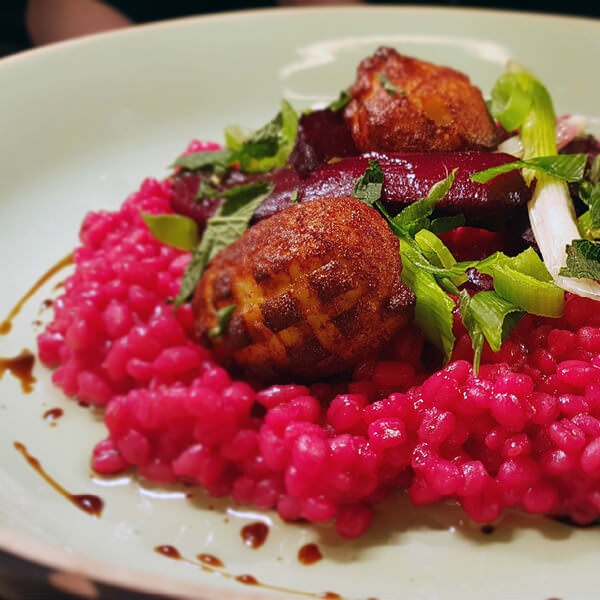 Parelgort risotto Hilversum - Bistro VOS | Restaurant Hiliversum