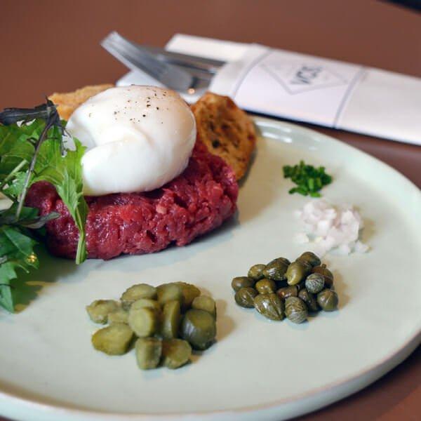 Steak tartare Hilversum - Bistro VOS | Restaurant Hiliversum