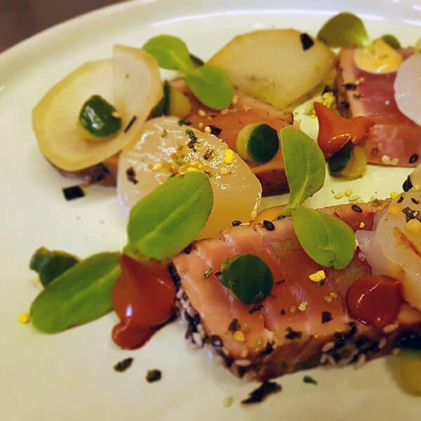 Tonijn coquille Hilversum - Bistro VOS | Restaurant Hiliversum